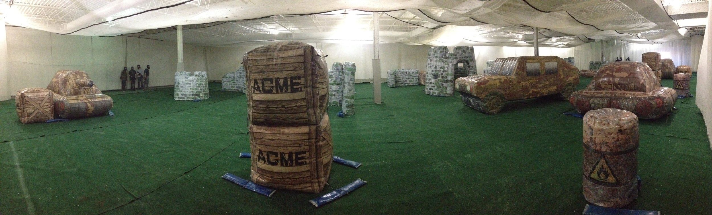 Splatball Indoor Paintball