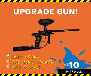 upgraded paintball gun