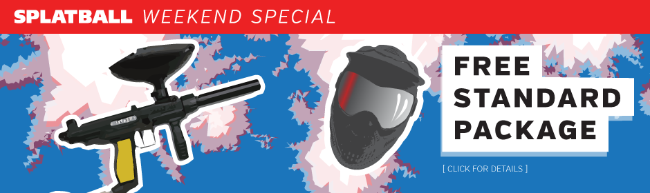 4th of July Paintball Special