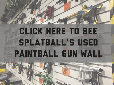 Splatball used paintball gear in Minnesota