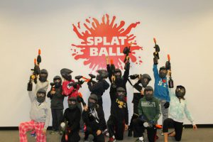 Splatball Indoor Paintball Birthday