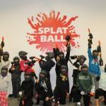 Splatball Indoor Paintball Birthday