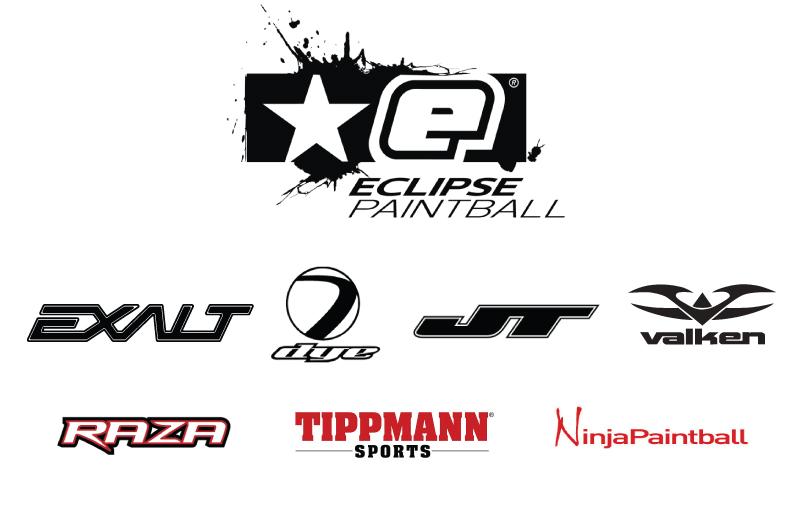 Paintball store logos