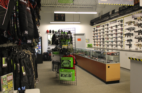 splatball paintball shop in MN
