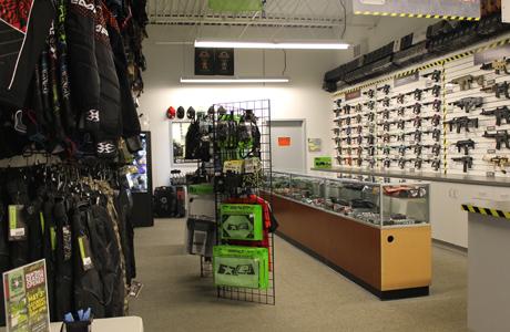 splatball paintball shop in MN