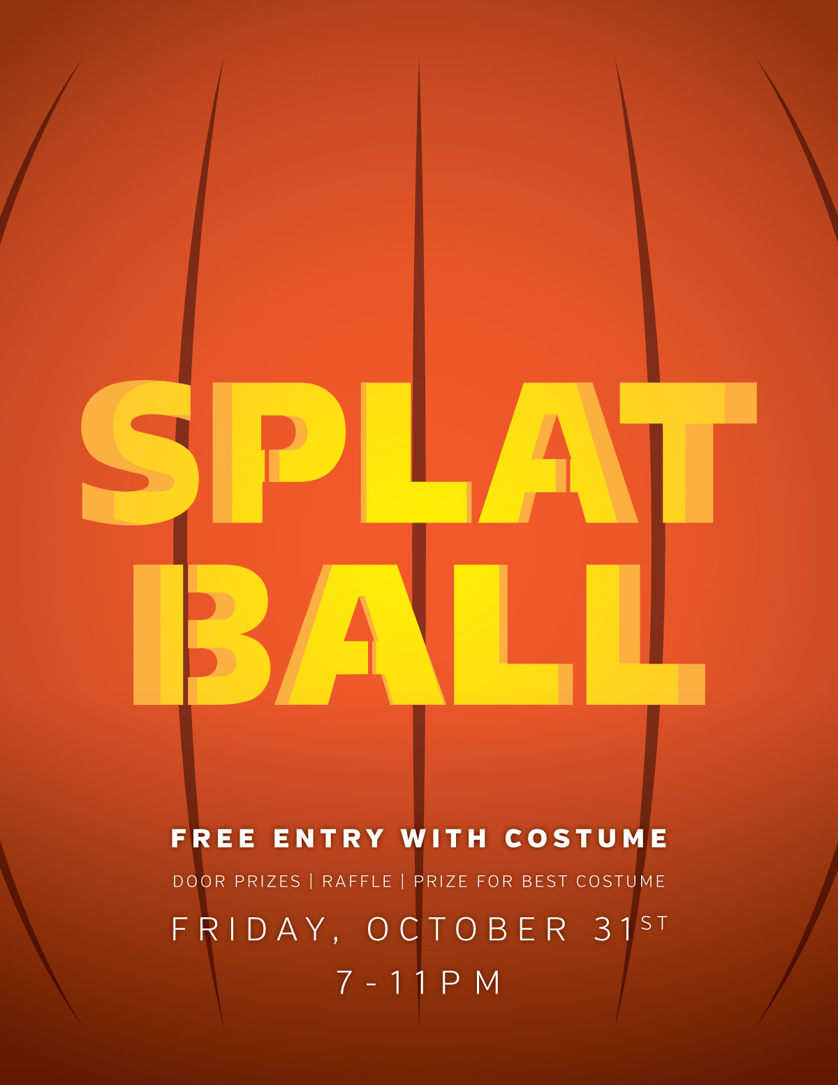 Wear a costume get free admission Splatball Indoor Paintball