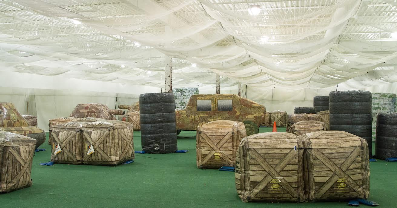 Splatball Indoor Paintball Arena