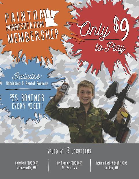 paintball mn membership