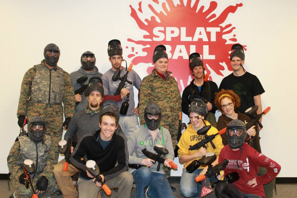 Team building paintball mn