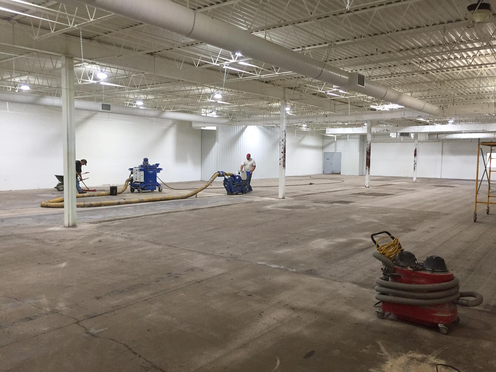 splatball indoor flooring