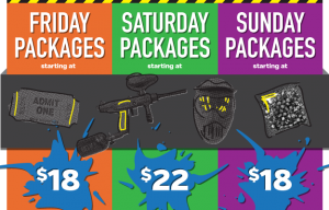 Splatball prices