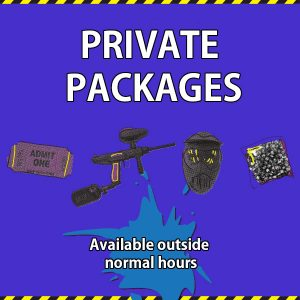 Splatball package pricing
