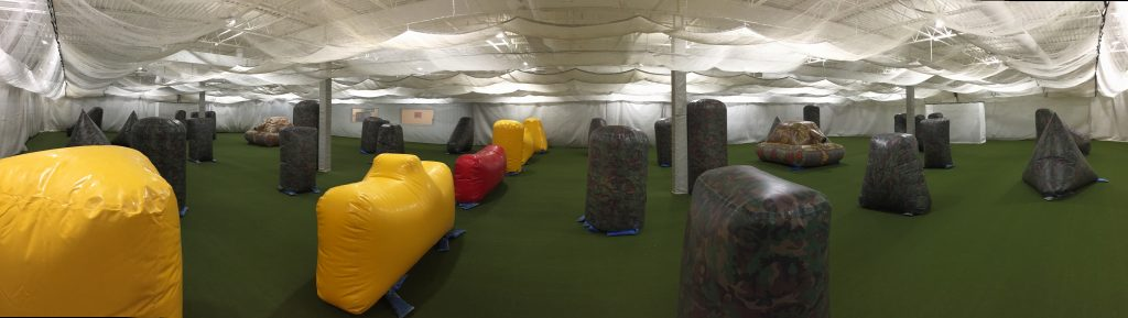 indoor paintball arena