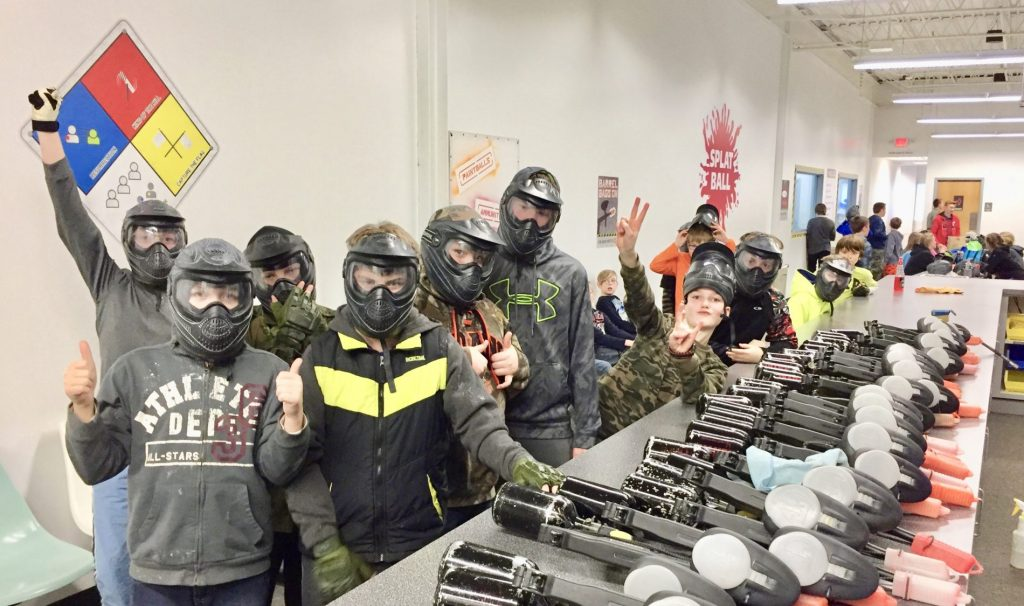 kid paintball Minnesota