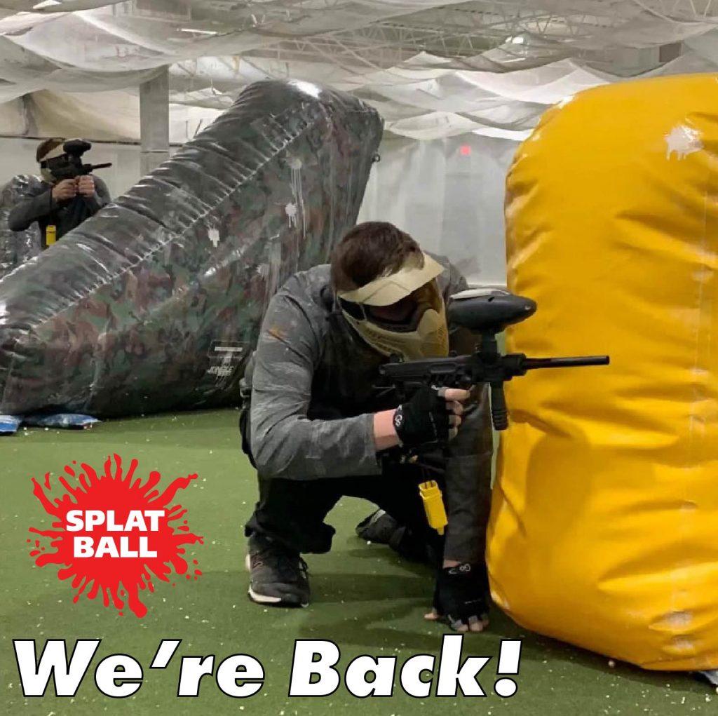 Splatball Vantora Images Splatball Indoor Paintball